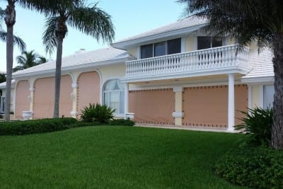Hurricane Fabric Panels | Clearwater | West Shore Construction
