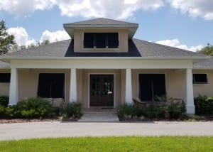 Beautiful Black Bahama Shutters | West Shore Construction