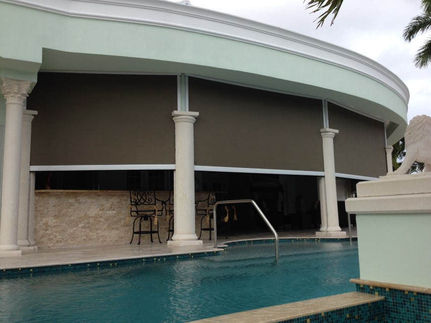 Motorized Hurricane Screens | Clearwater