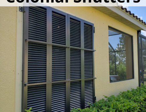 Stand Up to Storms with Colonial Hurricane Shutters