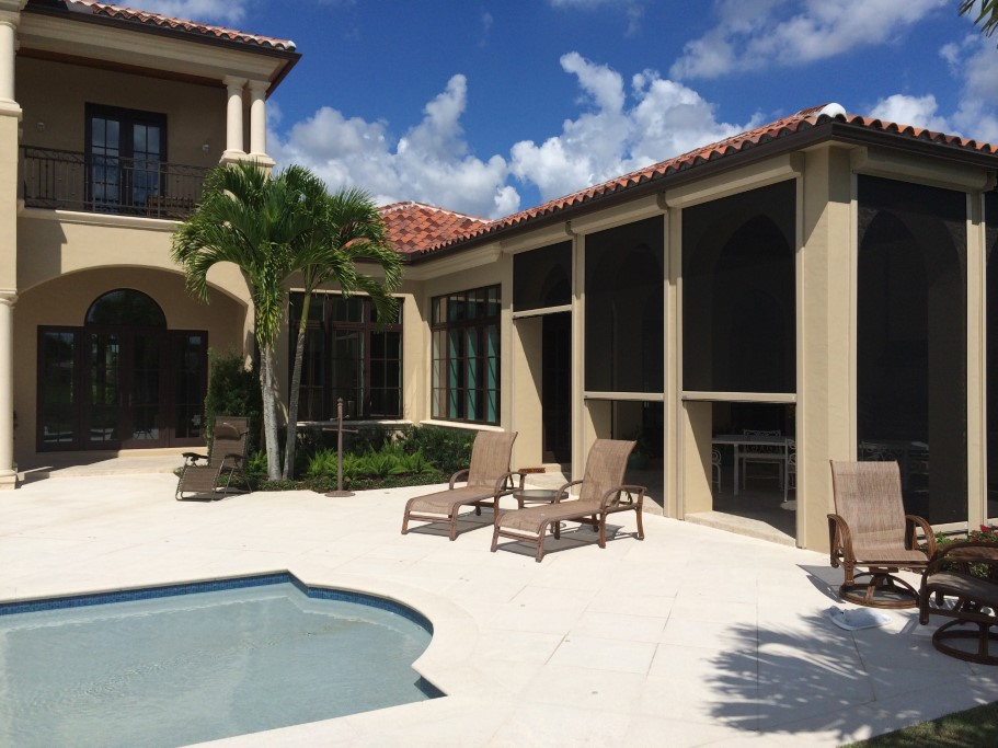 Roll Down Hurricane Screens | Clearwater | West Shore Construction
